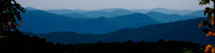 Photo of the beautiful NC mountains